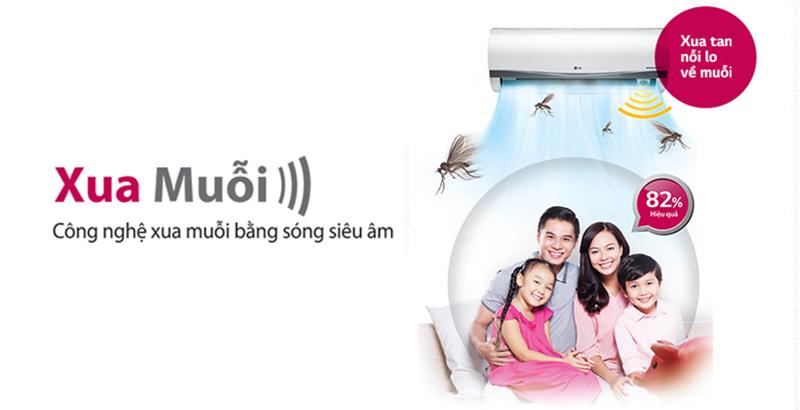 Công nghệ xua muỗi sẽ giúp gia đình bạn xua tan nỗi lo về muỗi