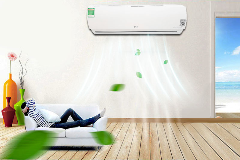 Máy điều hòa 2 chiều LG B10ENC sở hữu chế độ làm lạnh êm ái, không tạo ra tiếng ồn, giữ cho căn phòng luôn được im ắng