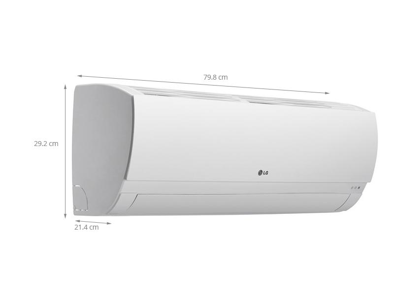 Thông số kỹ thuật Điều hòa 2 chiều LG 1.5 HP B13ENC