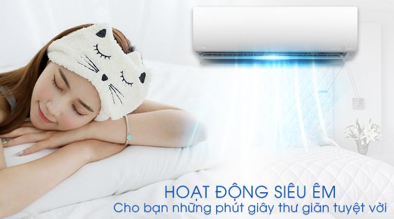 Hoạt động siêu êm - Máy lạnh Toshiba Inverter 2 HP RAS-H18G2KCVP-V
