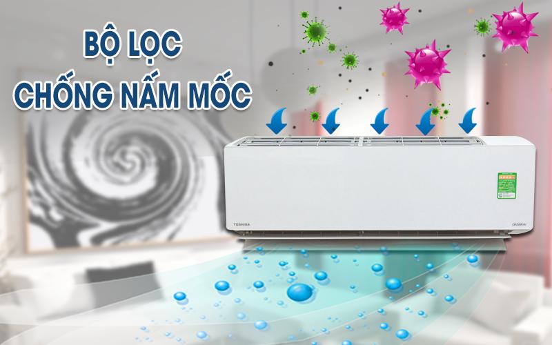 Lưới lọc chống nấm mốc - Máy lạnh Toshiba Inverter 2 HP RAS-H18G2KCVP-V