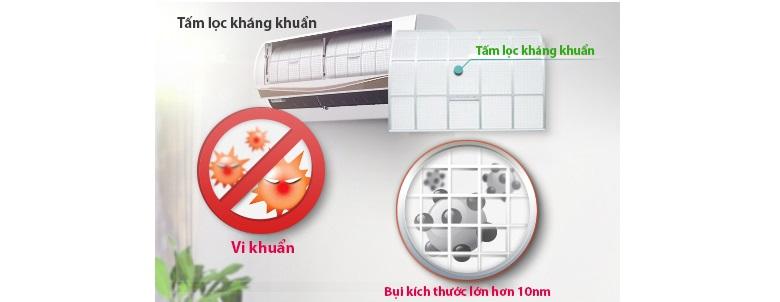 Diệt khuẩn tận gốc với tấm lọc kháng khuẩn