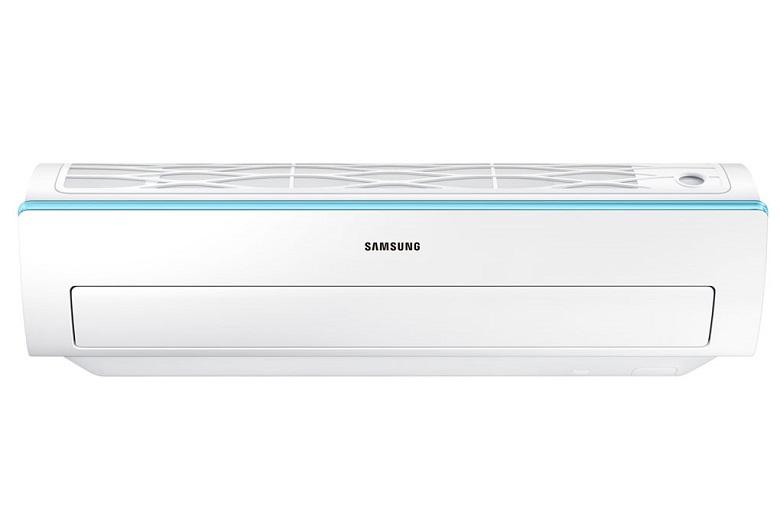 Máy lạnh Samsung AR24KCFSSURNSV – Vỏ ngoài màu trắng trung tính, hài hòa