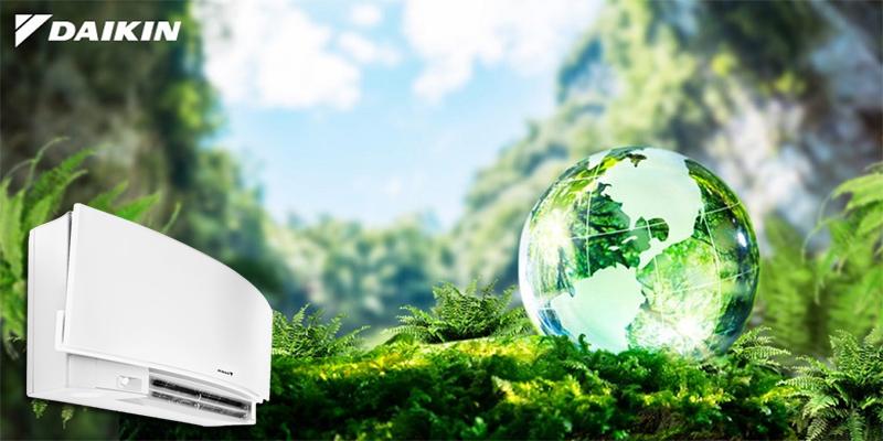 Sản phẩm Daikin thân thiện với môi trường.