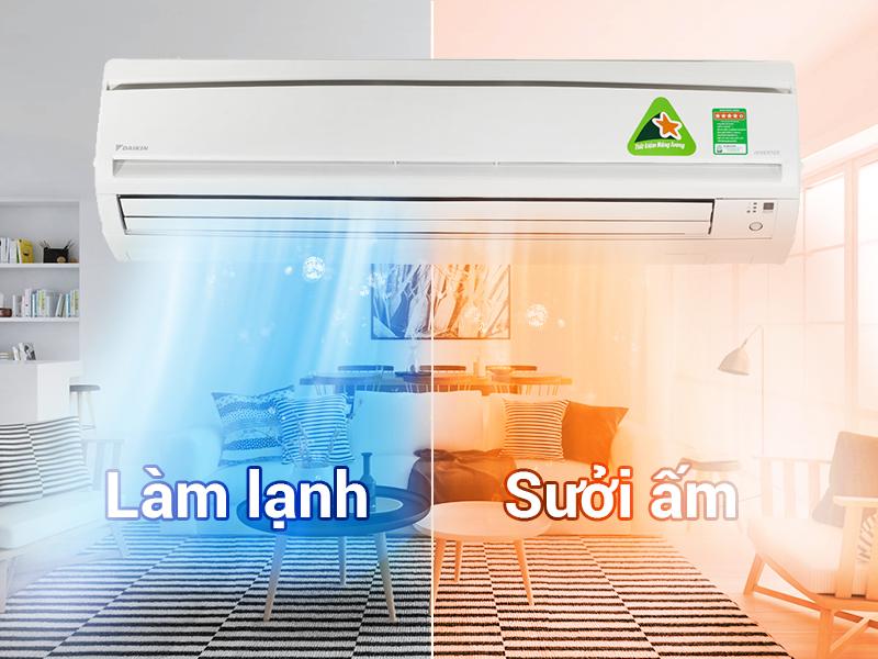 Khả năng ổn định nhiệt độ dù lạnh hay nóng
