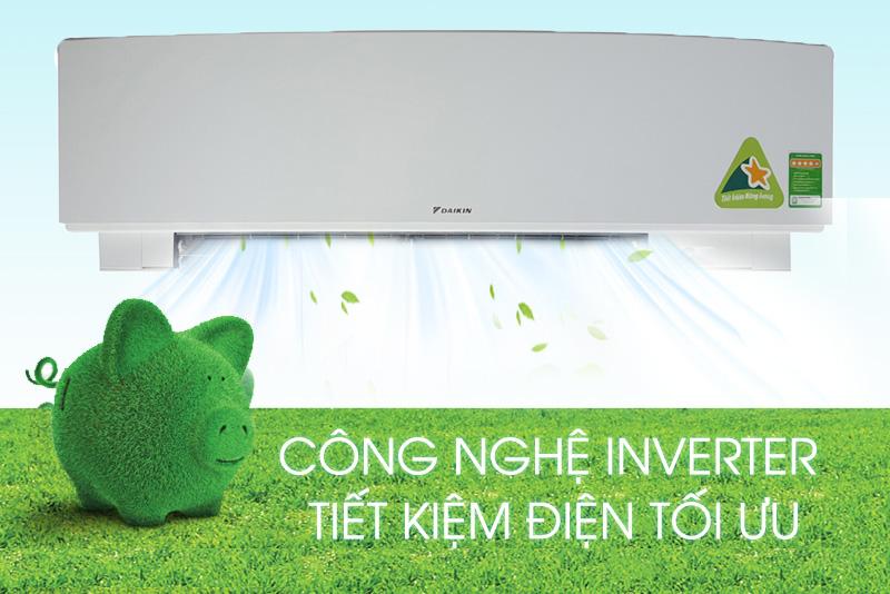Tiết kiệm điện năng ưu việt với Inverter