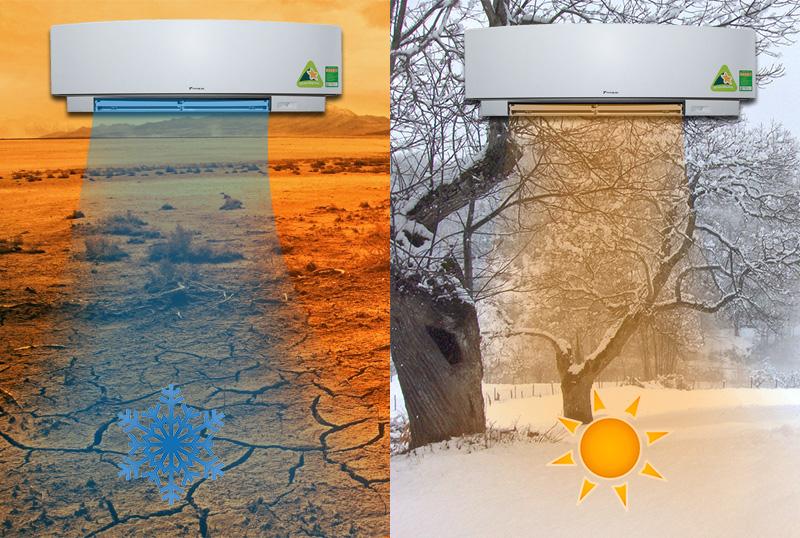 Thoải mái tận hưởng bầu không khí thoải mái trong 2 mùa