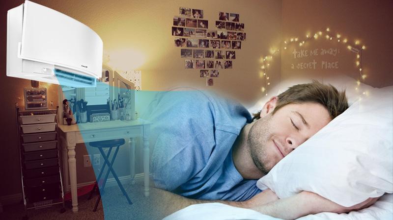 Giấc ngủ ngon hơn với chế độ hoạt động ban đêm