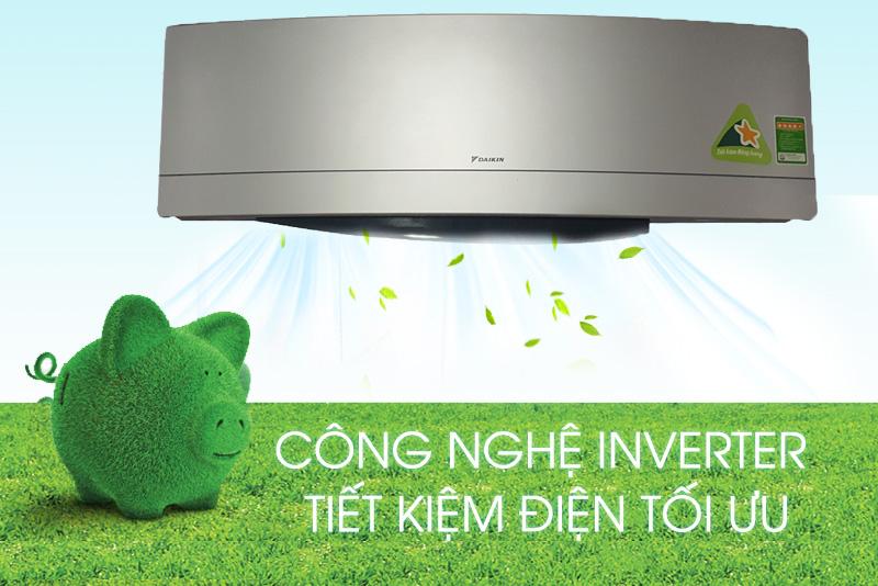 Làm lạnh nhanh và tiết kiệm điện năng ưu việt với Inverter