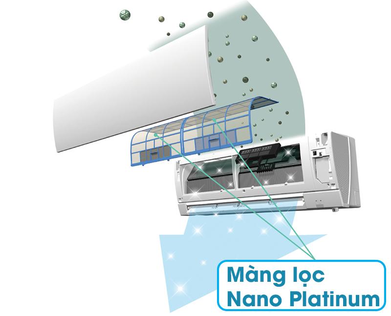 Màng lọc kháng khuẩn Nano Platinum