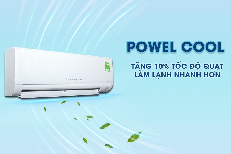Power Cool của máy lạnh Mitsubishi Electric MS-HL50VC