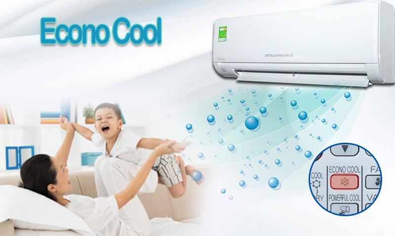 Econo Cool của máy lạnh Mitsubishi Electric MS-HL50VC