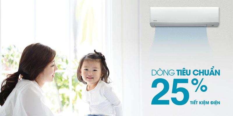 Tiết kiệm 25% điện năng tiêu thụ