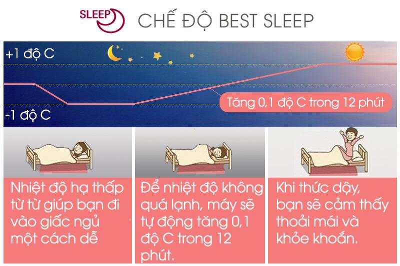 Chế độ Best Sleep cho giấc ngủ thoải mái hơn
