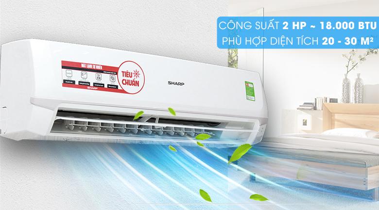 Máy lạnh Sharp 2 HP AH-A18SEW