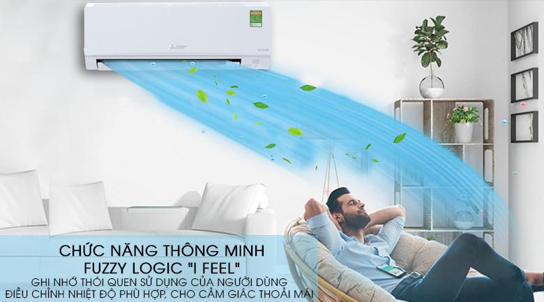 Công nghệ Fuzzy Logic I Feel - Máy lạnh Mitsubishi Electric Inverter 1 HP MSY-GH10VA