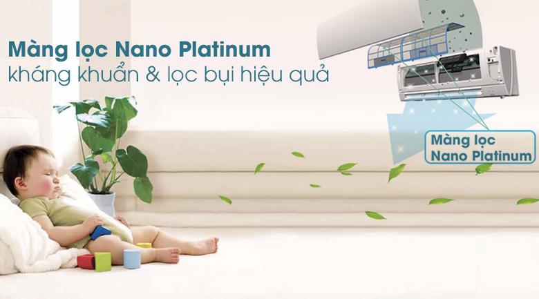 Màng lọc Nano Platinum - Máy lạnh Mitsubishi Electric Inverter 1 HP MSY-GH10VA