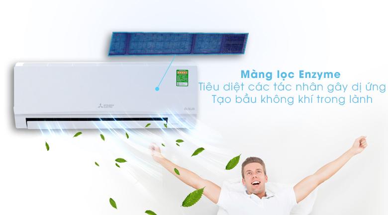 Màng lọc Enzyme - Máy lạnh Mitsubishi Electric Inverter 1 HP MSY-GH10VA