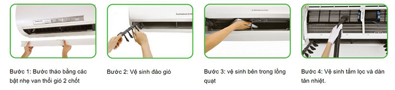 Công nghệ Easy Clean vệ sinh dễ dàng