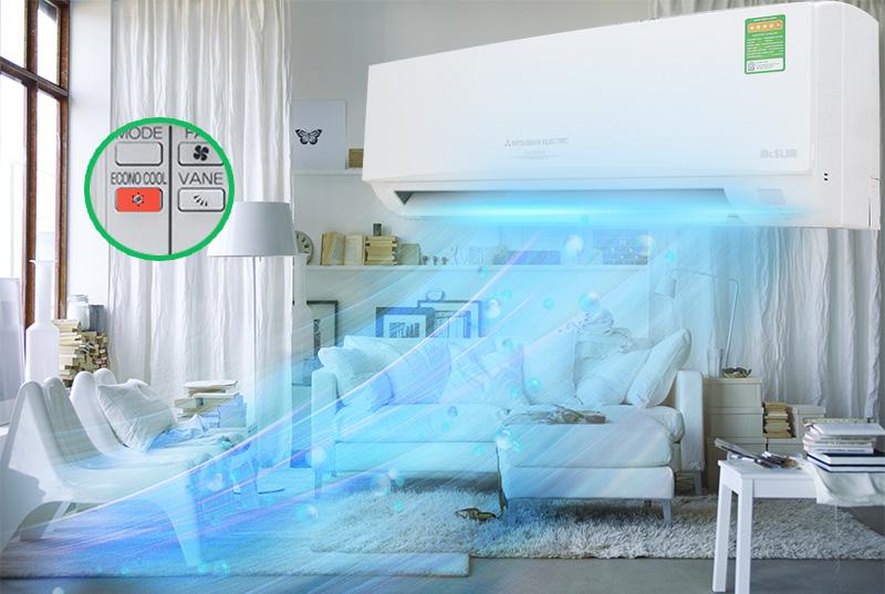Econo Cool  tăng hiệu quả tiết kiệm điện
