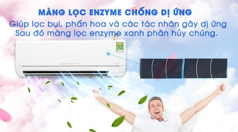 Màng lọc Enzyme - Điều hòa Mitsubishi Electric Inverter 1.5 HP MSZ-HL35VA