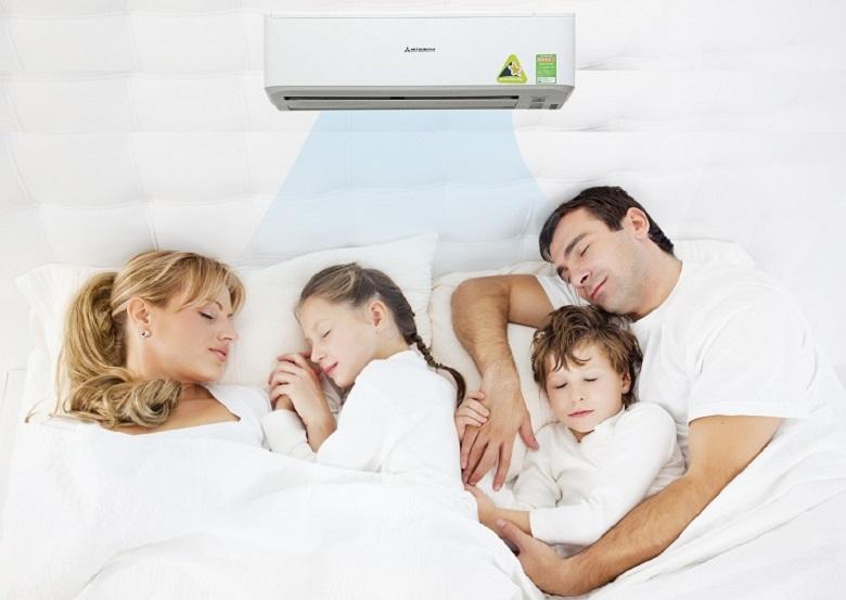 Tạo không gian yên tĩnh mang lại giấc ngủ thoải mái cho gia đình bạn