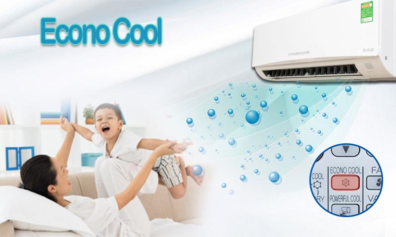 Chức năng Econo Cool tiết kiệm điện