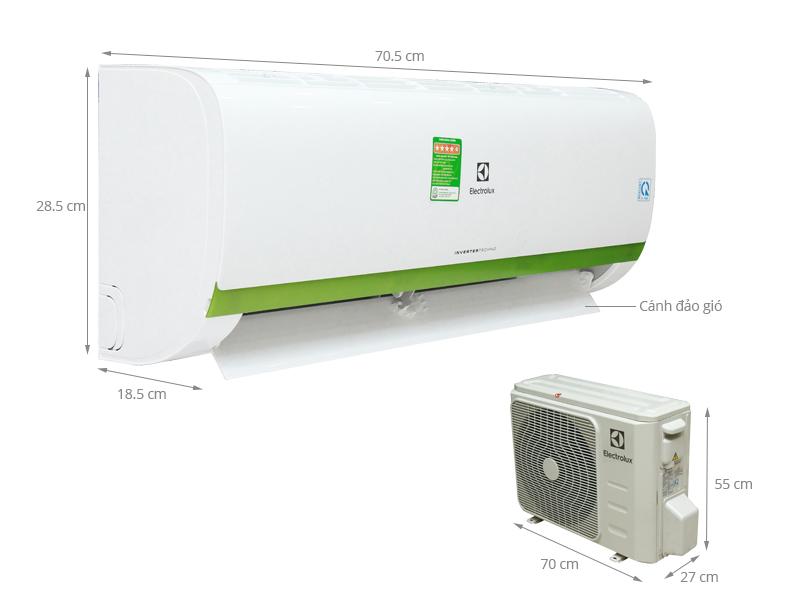 Thông số kỹ thuật Máy lạnh Electrolux 1 HP ESV09CRK-A4