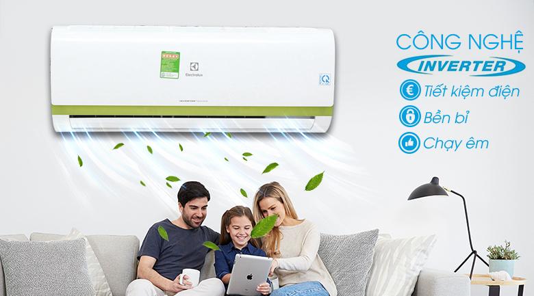 Công nghệ Inverter - Máy lạnh Electrolux Inverter 1 HP ESV09CRK-A4