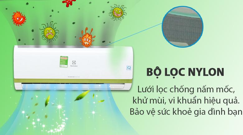 Nylon - Máy lạnh Electrolux Inverter 1 HP ESV09CRK-A4