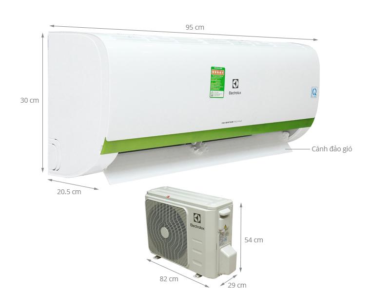 Thông số kỹ thuật Máy lạnh Electrolux Inverter 2 HP ESV18CRK-A4