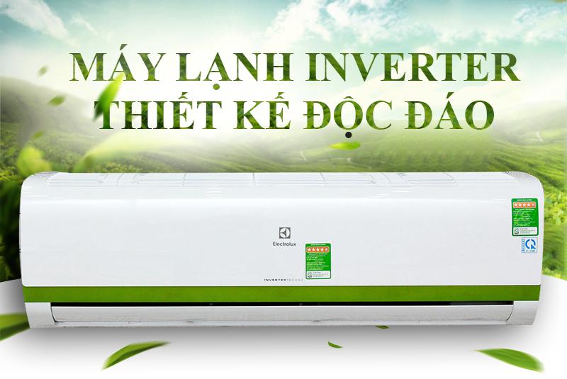 Máy lạnh Inverter tiết kiệm điện năng