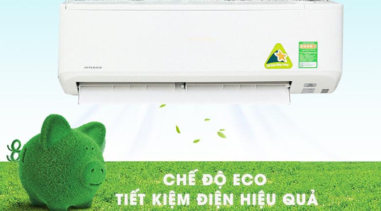 Chế độ ECO tiết kiệm điện - Máy lạnh Mitsubishi Heavy Inverter 2 HP SRK18YN-S5