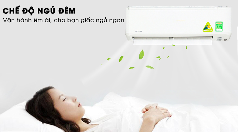 Chế độ ngủ đêm - Máy lạnh Mitsubishi Heavy Inverter 2 HP SRK18YN-S5