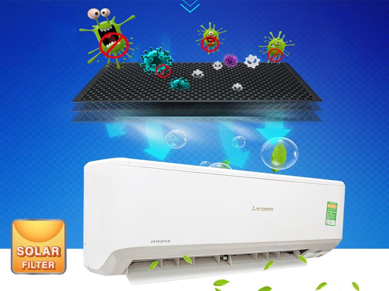 Bộ lọc kháng khuẩn Solar Filter