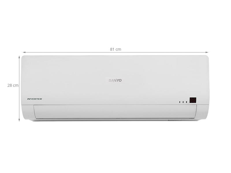 Thông số kỹ thuật Máy lạnh Sanyo 1 HP SAP-KCRV9WGS