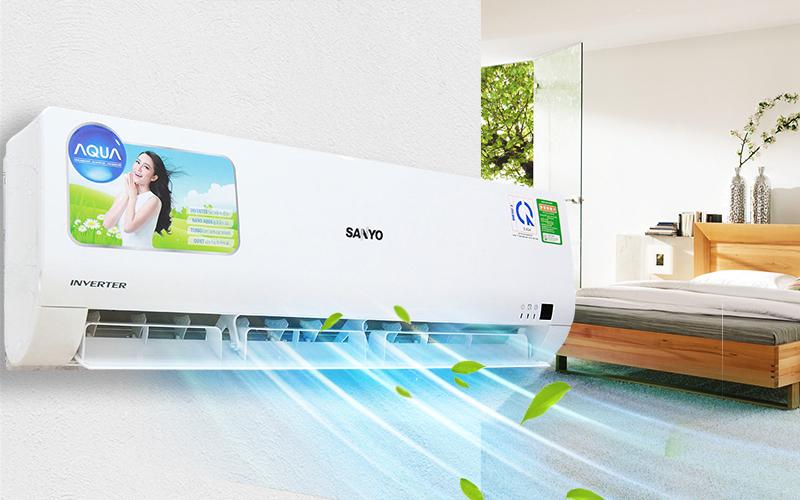 Máy lạnh Sanyo 1 HP SAP-KCRV9WGS