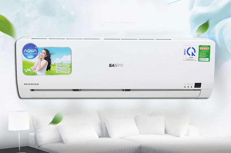 Máy lạnh Sanyo 1.5 HP SAP-KCRV12WGS