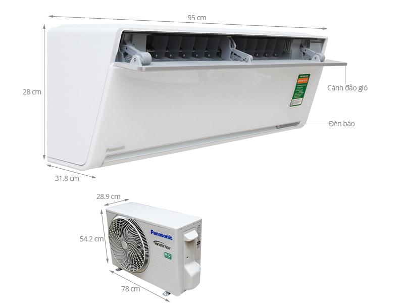 Thông số kỹ thuật Máy lạnh Panasonic 1 HP CU/CS-VU9SKH-8