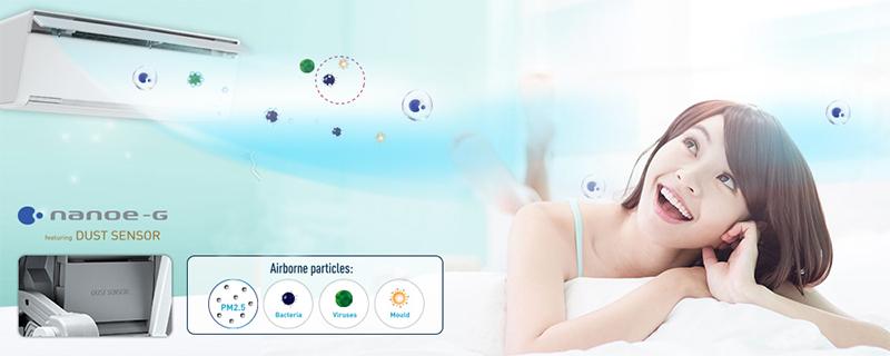 Công nghệ phát hiện hàm lượng bụi cao trong không khí