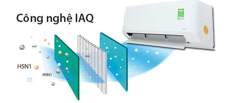 Công nghệ diệt khuẩn IAQ sử dụng enzyme kháng khuẩn và các phân tử bạc