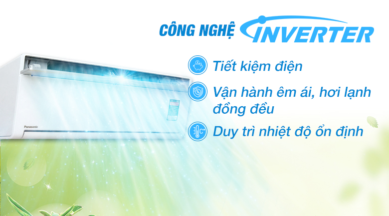 Inverter - Máy lạnh Panasonic Inverter 1.5 HP CU/CS-VU12SKH-8