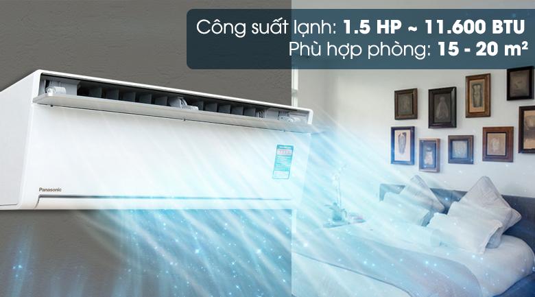 Công suất 1.5 HP - Máy lạnh Panasonic Inverter 1.5 HP CU/CS-VU12SKH-8