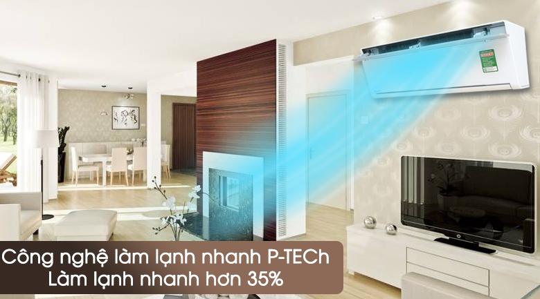 Điều hòa PANASONIC VU12SKH Inverter 11.600 BTU 4