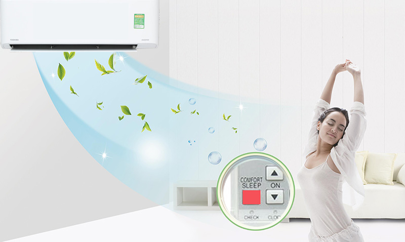 Comfort Sleep kiểm soát nhiệt độ ổn định