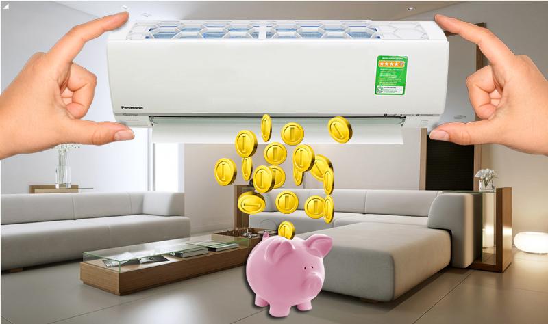 Công nghệ Inverter giúp điều hòa Panasonic 2 HP CU/CS-U18SKH-8 có thể tiết kiệm điện