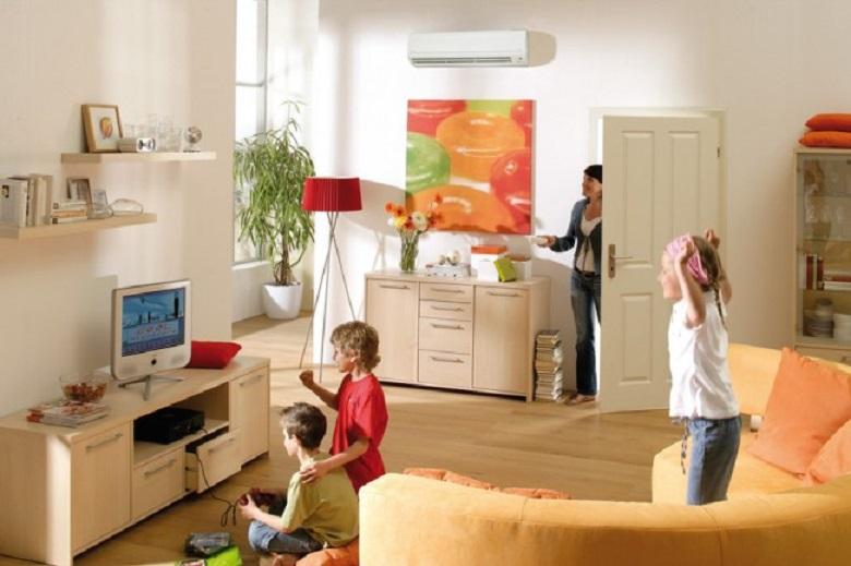 Công suất 2 HP phù hợp cho không gian phòng khách.