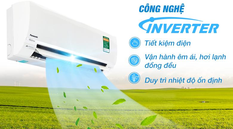 Inverter - Điều hòa 2 chiều Panasonic Inverter 1 HP CU/CS-YZ9SKH-8