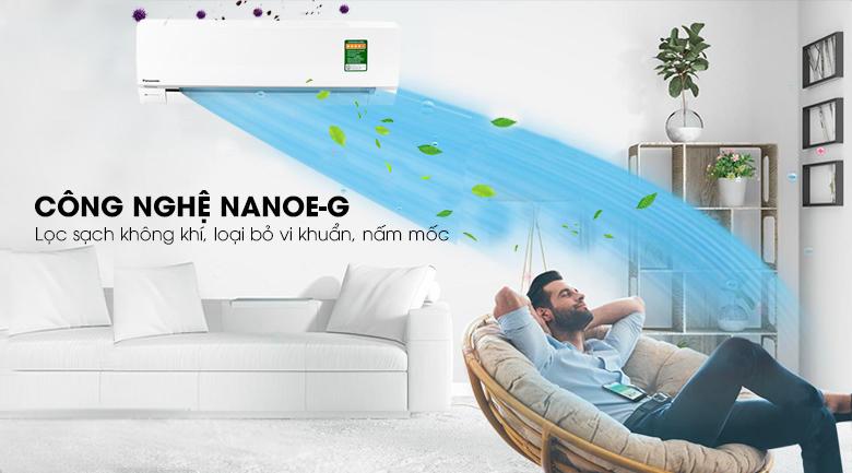 Nanoe-G - Điều hòa 2 chiều Panasonic Inverter 1 HP CU/CS-YZ9SKH-8