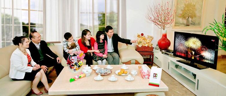 Mang đến bầu không khí lý tưởng cho cả gia đình.
